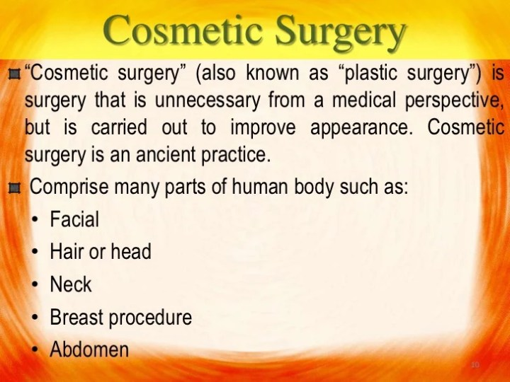 expository essay on plastic surgery We have got a perfectly written paper example, on the topic of plastic surgery  use the given sample to create a strong essay on your own effortlessly.
