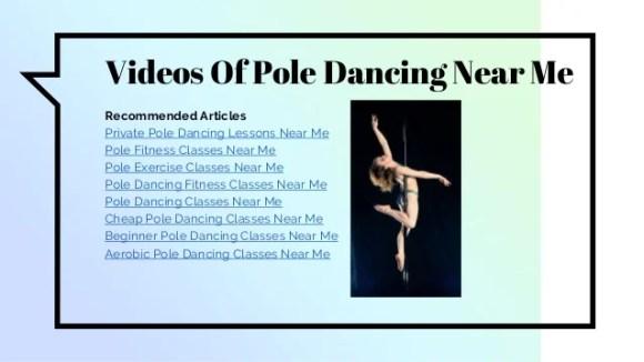 Pole Dancing Classes Near Me