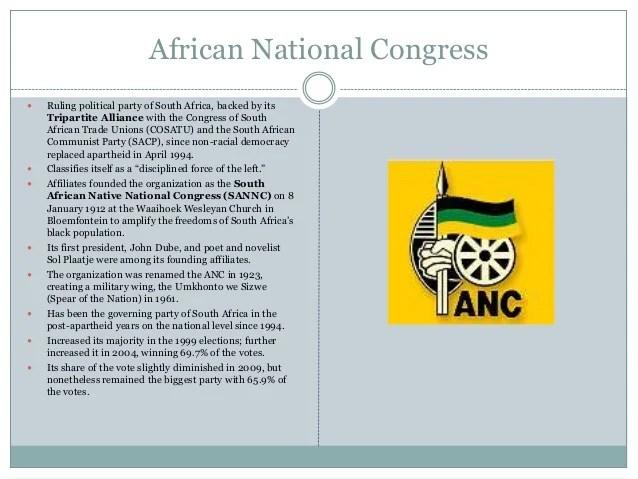 Politics of South Africa