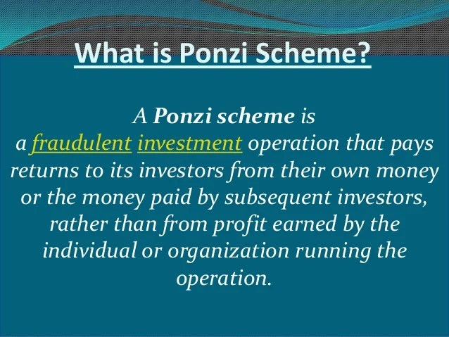 Image result for ponzi schemes images