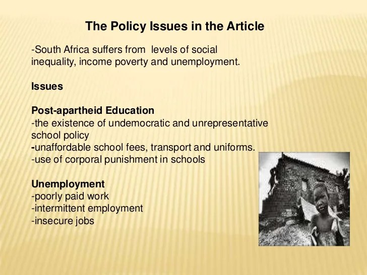 Articles About Social Issues In Education