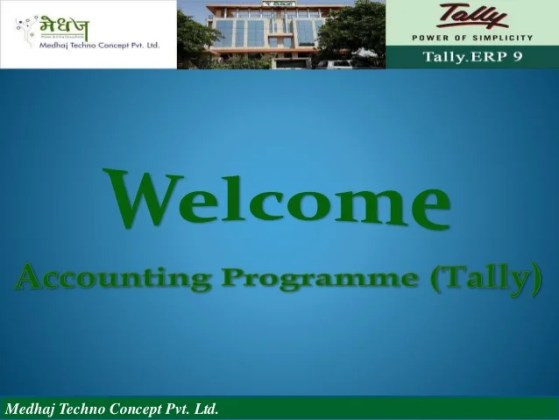 Ppt of tally
