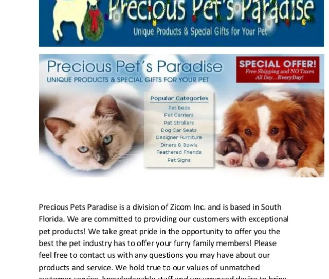 Big Shrimpy Dog Beds Precious Pets Paradise Is A Division Of Zicom Inc And Is Based In South Florida