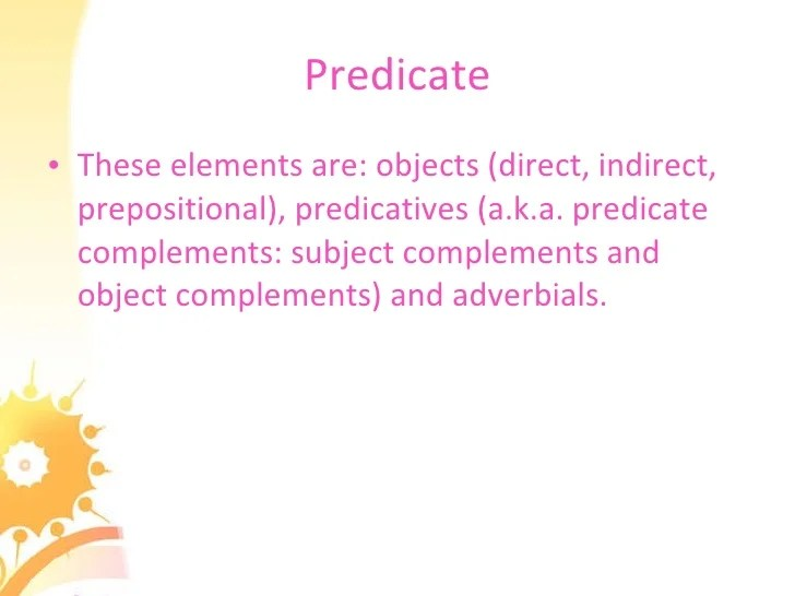 Gave With Indirect Objects Examples