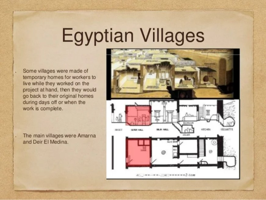 Image Result For Ancient Egyptian Workers Village