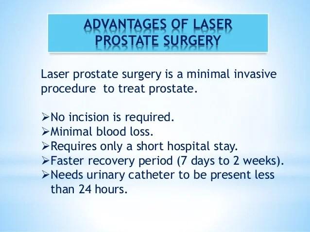 Presentation enlarged prostate