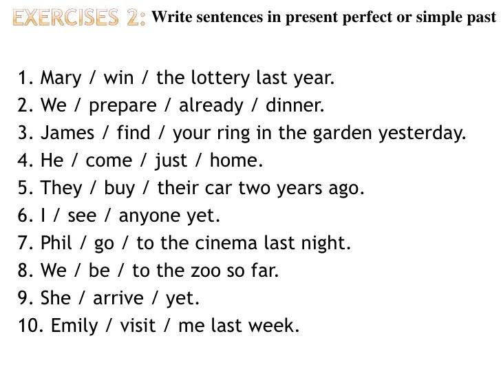 Past Cram Simple Grammar Ego4u