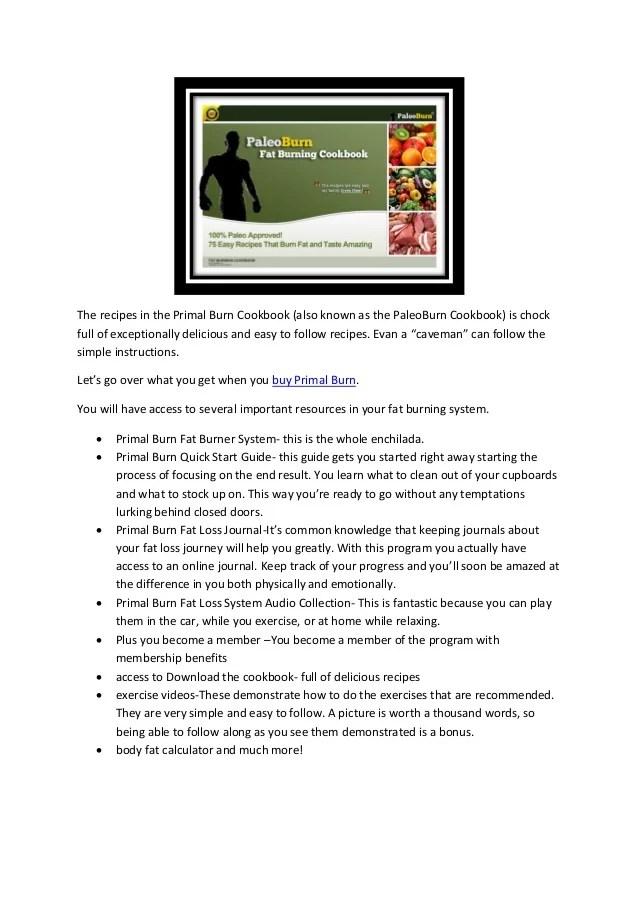 Primal Burn Fat Burning System Review