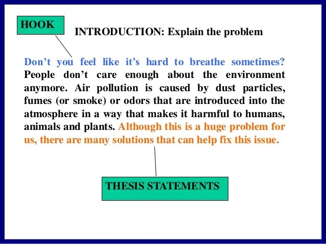 solution of environmental problems