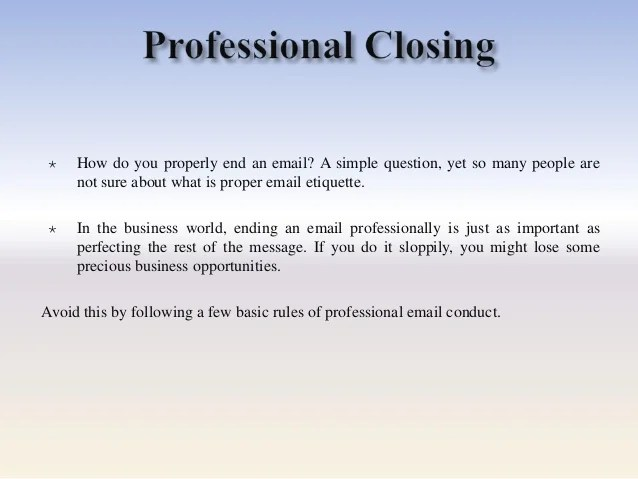 Professional email greetings m4hsunfo