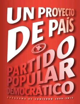 Image result for Programa de gobierno del PPD 2008