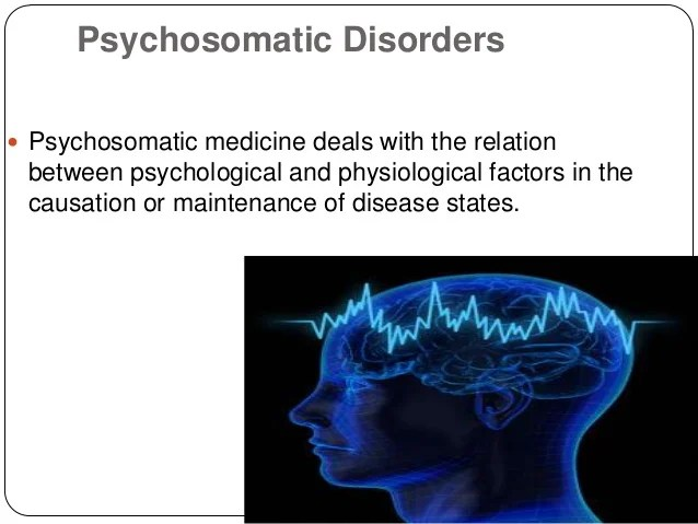 Types Somatic Disorders
