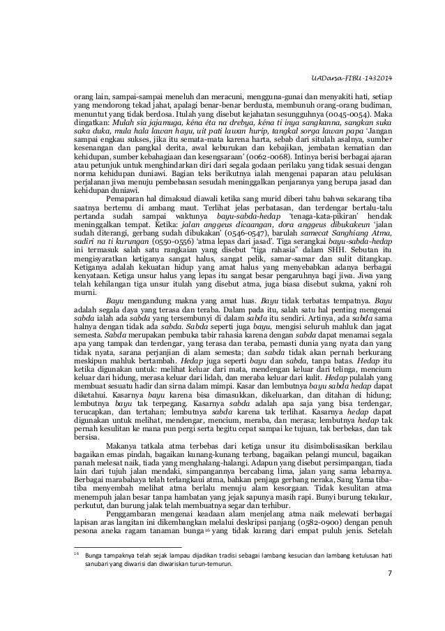 UADarsa-FIBU-1432014 7 orang lain, sampai-sampai meneluh dan meracuni, mengguna-gunai dan menyakiti hati, setiap yang mend...