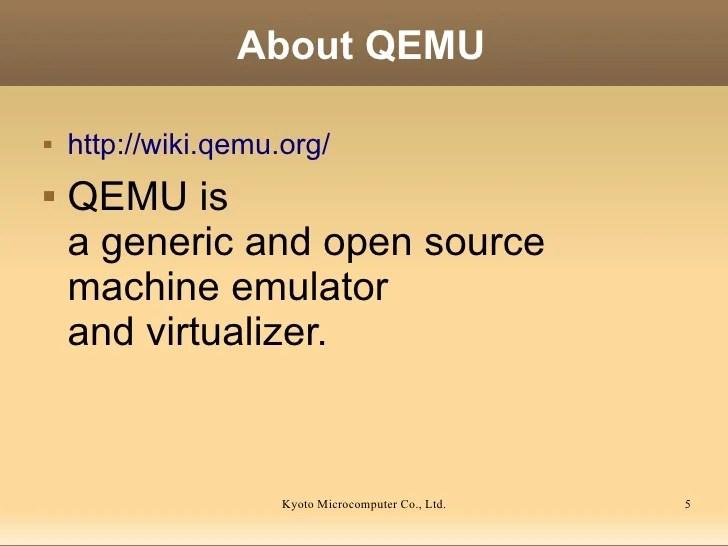 Qemu Machine Emulators And Tools - assetspecification