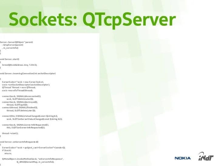 Qt Network Explained (Portuguese)