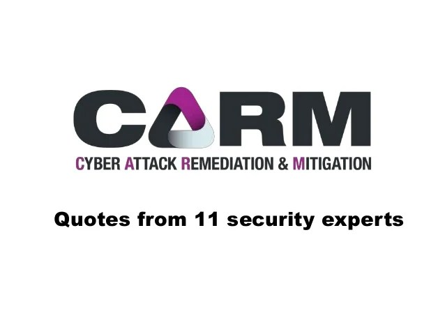 Quotes from top Cyber Security experts