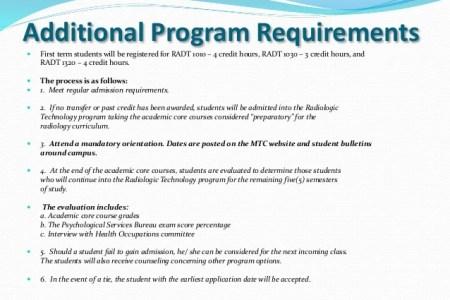 Free Professional Resume » radiology technician certificate program ...