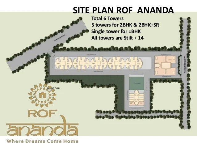 site plan RAMADA ROF AnandaSector 95 Gurgaon Affordable Housing Policy project FLATS at (WAZIRPUR Pataudi ROAD )