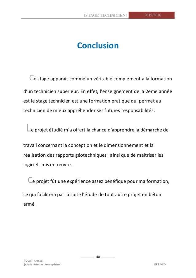 Rapport De Stage Gnie Civil Gotechnique