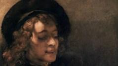 REMBRANDT son fils Titus lisant - détail