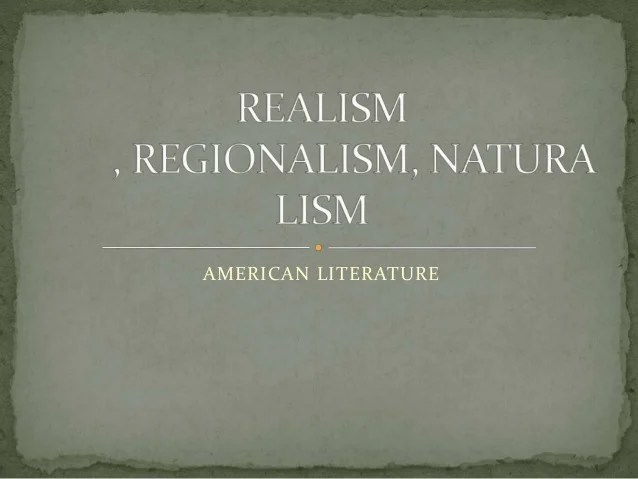 And Art Realism Regionalism
