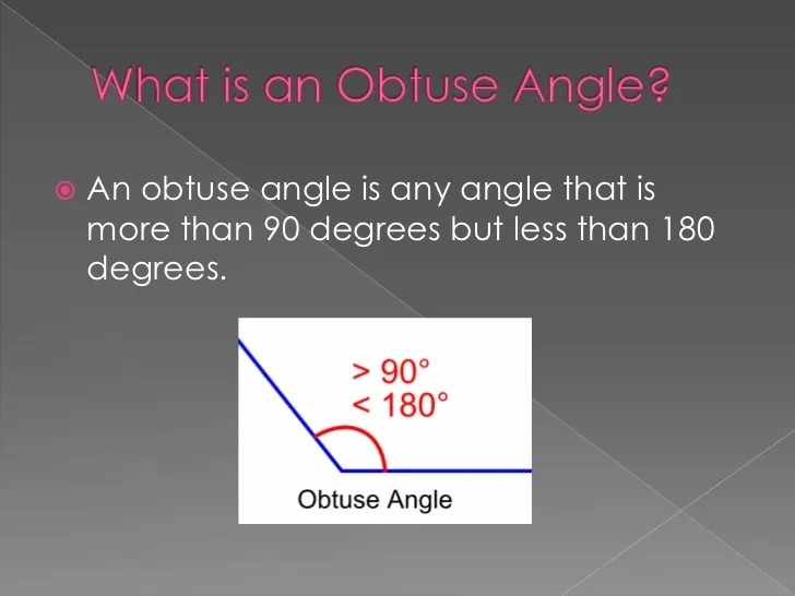 Angles 5 Angles Right 4 Angles Acute Obtuse Pictures 3