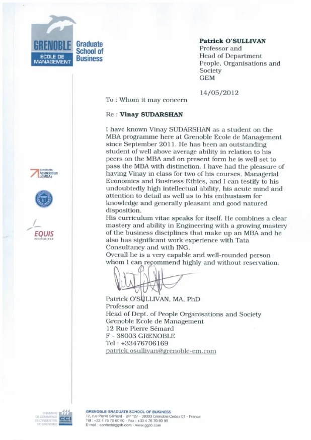 sample recommendation letter for phd from professor howtoviews co