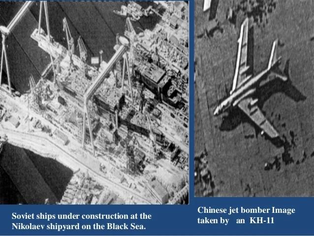 Reconnaissance satellite or Spy Satellite