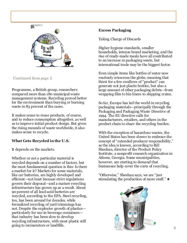 Essay on why recycling should be mandatory resume for consultant application