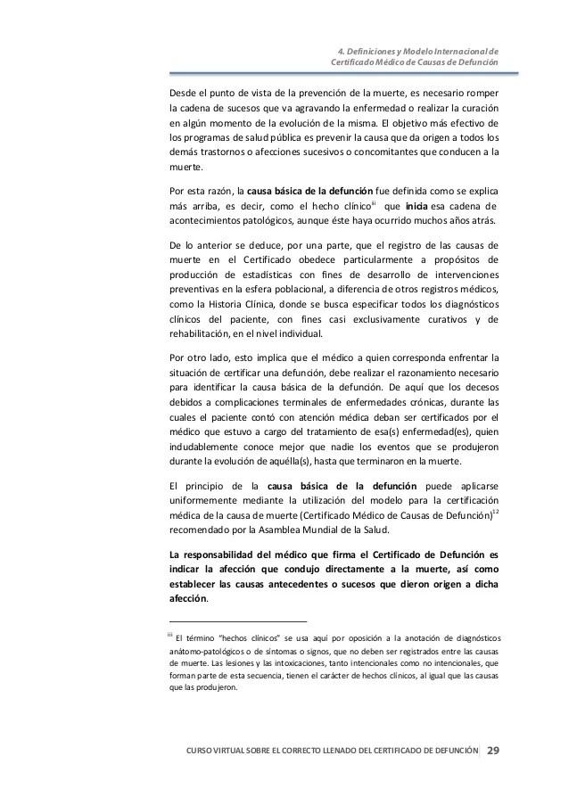 Curso Virtual Sobre Correcto Llenado Del Certificado De