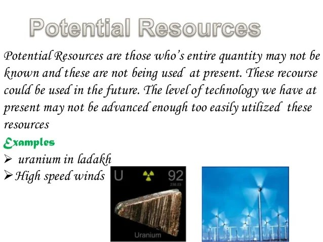 Renewable And Resources Examples Non Renewable