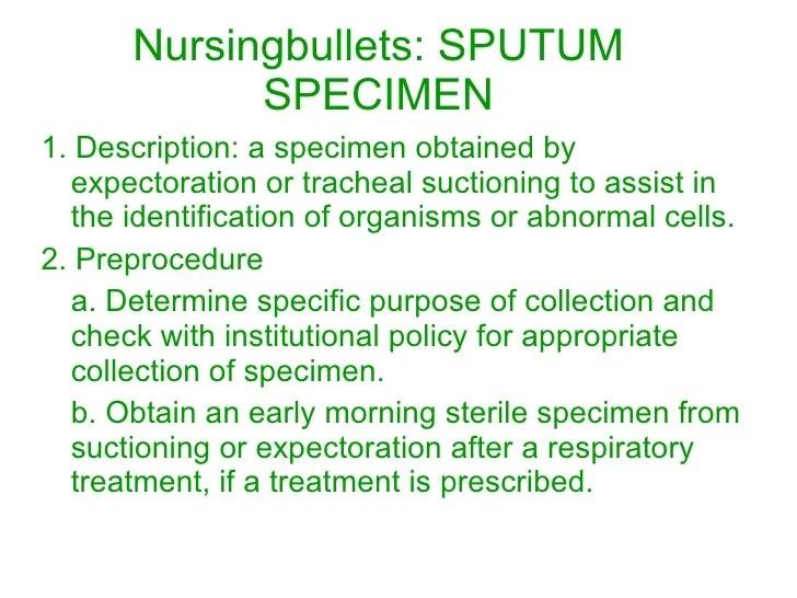 Sterile Metal Specimen Collection