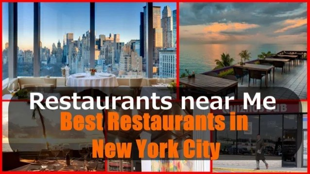 Restaurants Near Me York