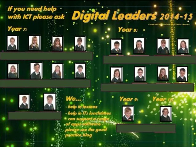 LLS Digital Leaders 2014-15