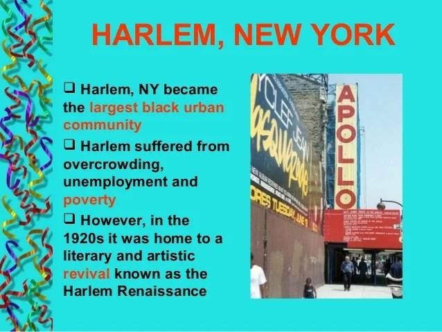 March Harlem Renaissance