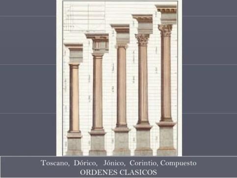 Resultado de imagen para foto de Los cinco Ordenes de la Arquitectura Son: Toscano, Dórico, Jónico, Corintio y Compuesto