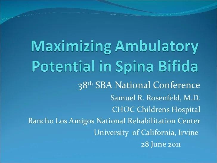 Maximizing Ambulatory Potential