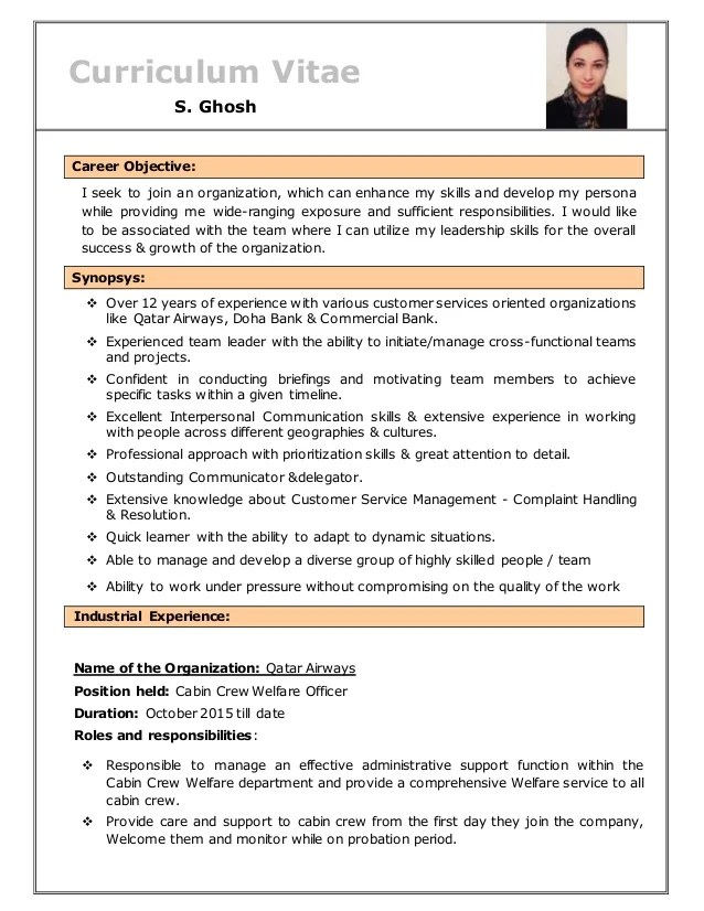 Resume Of S Ghosh