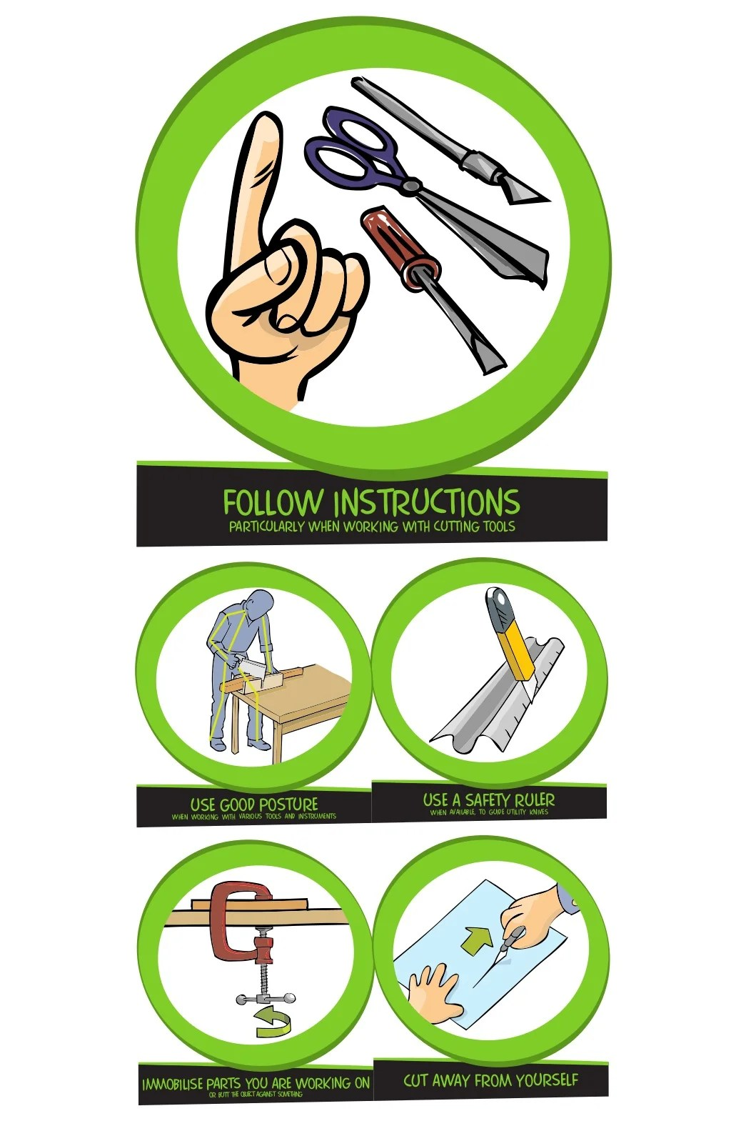 Rules Of Safety While Working In The Workshop