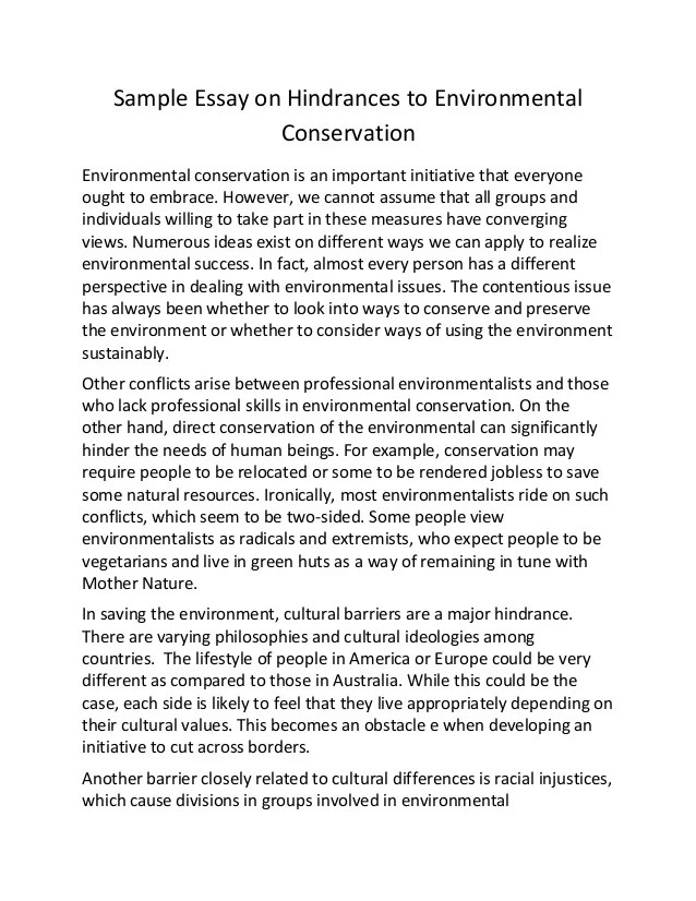 english essay-environmental protection Long essay on environmental pollution - essays & researches written by top  quality writers professional scholars working in the company will accomplish  your.