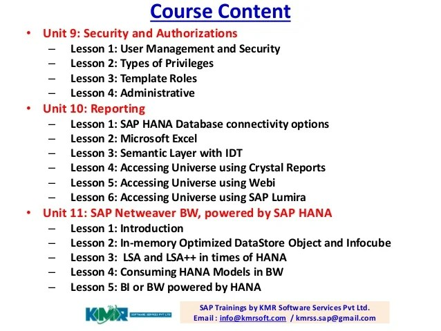 Online Security Database Course