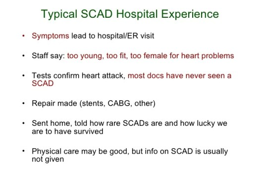 Image result for scad heart condition