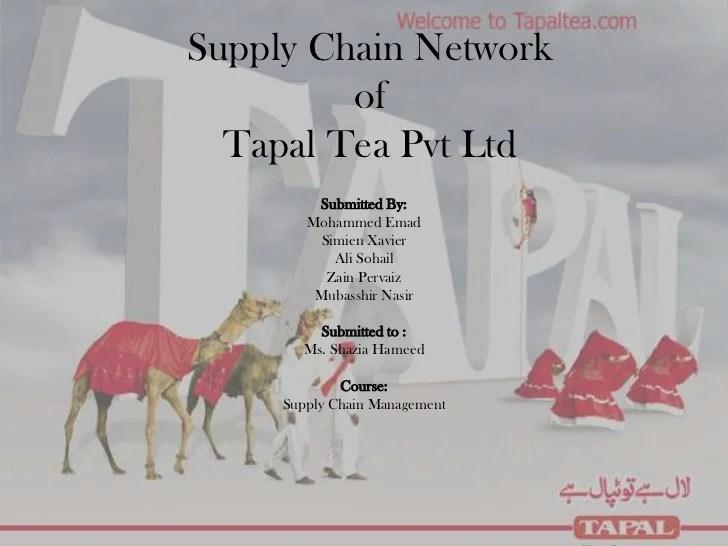Supply Chain activities at Tapal Tea