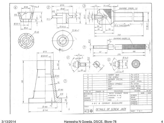 Autocad 2d Mechanical Drawings For Practice Pdf