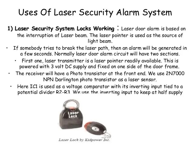 What Laser Security System