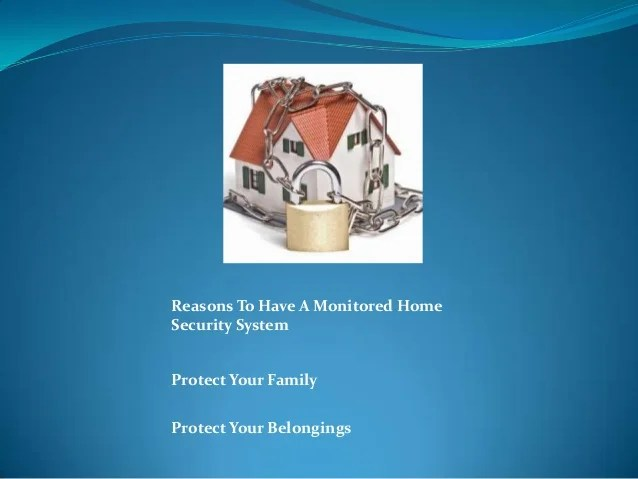 Do It Yourself Home Security System No Monitoring