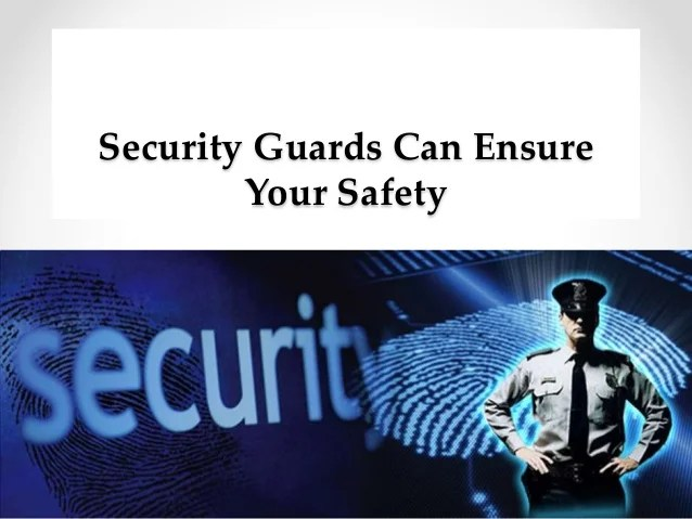 Security Guard Safety