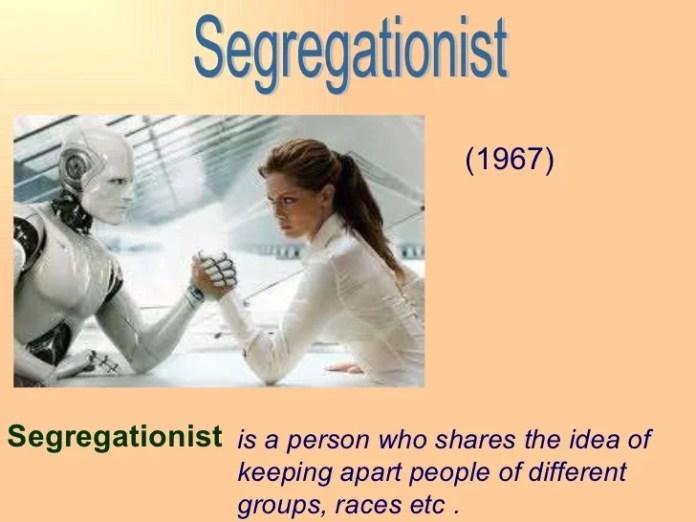 Image result for asimov   Segregationist