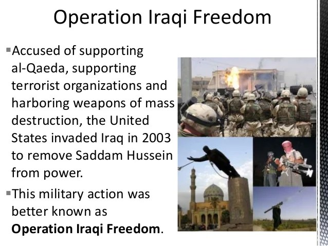 Image result for iraq harboring al qaeda lie