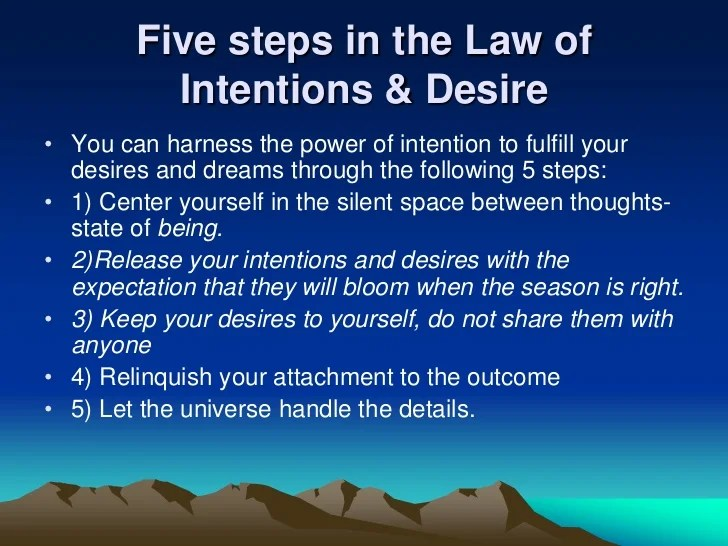 Image result for law of intention